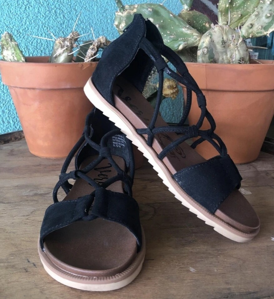 Black Destiny Sandal