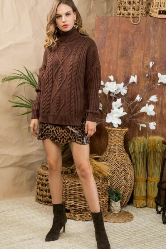 Ava Hot Chocolate Sweater