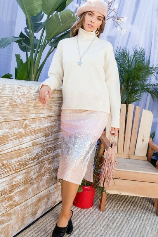 Mia Ivory Knit Sweater