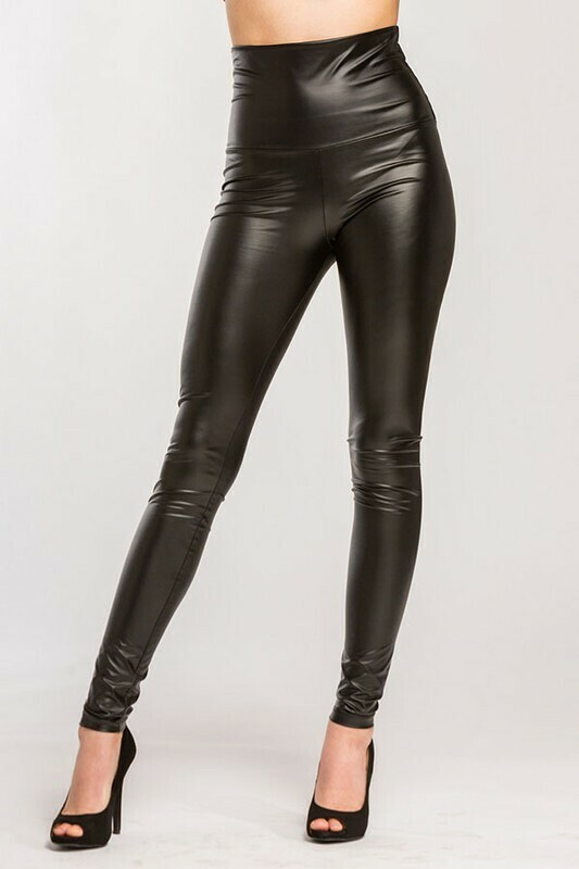 Finley Leather Leggings
