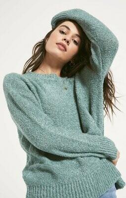 Heather Aqua Sweater