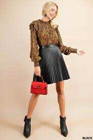 Nova Pleated Skirt