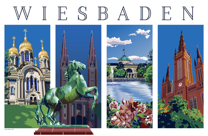 Wiesbaden Original (4 Views)