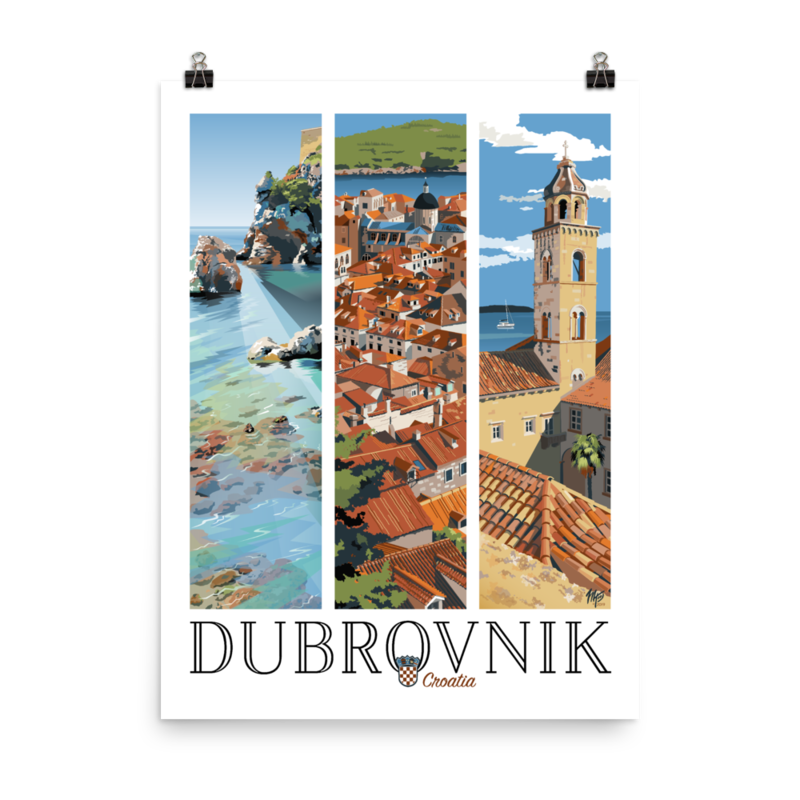 Dubrovnik (18x24)