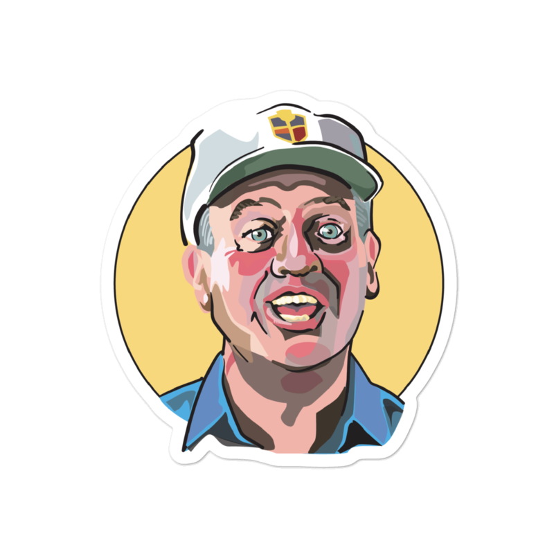 Caddyshack Sticker: Al Czervik