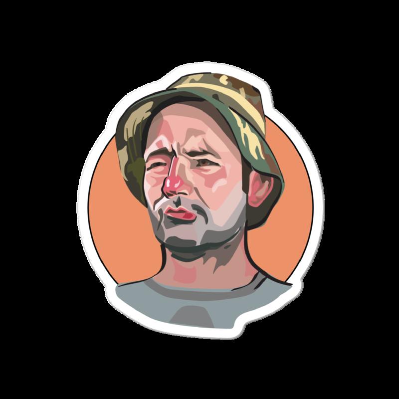 Caddyshack Sticker: Carl Spackler