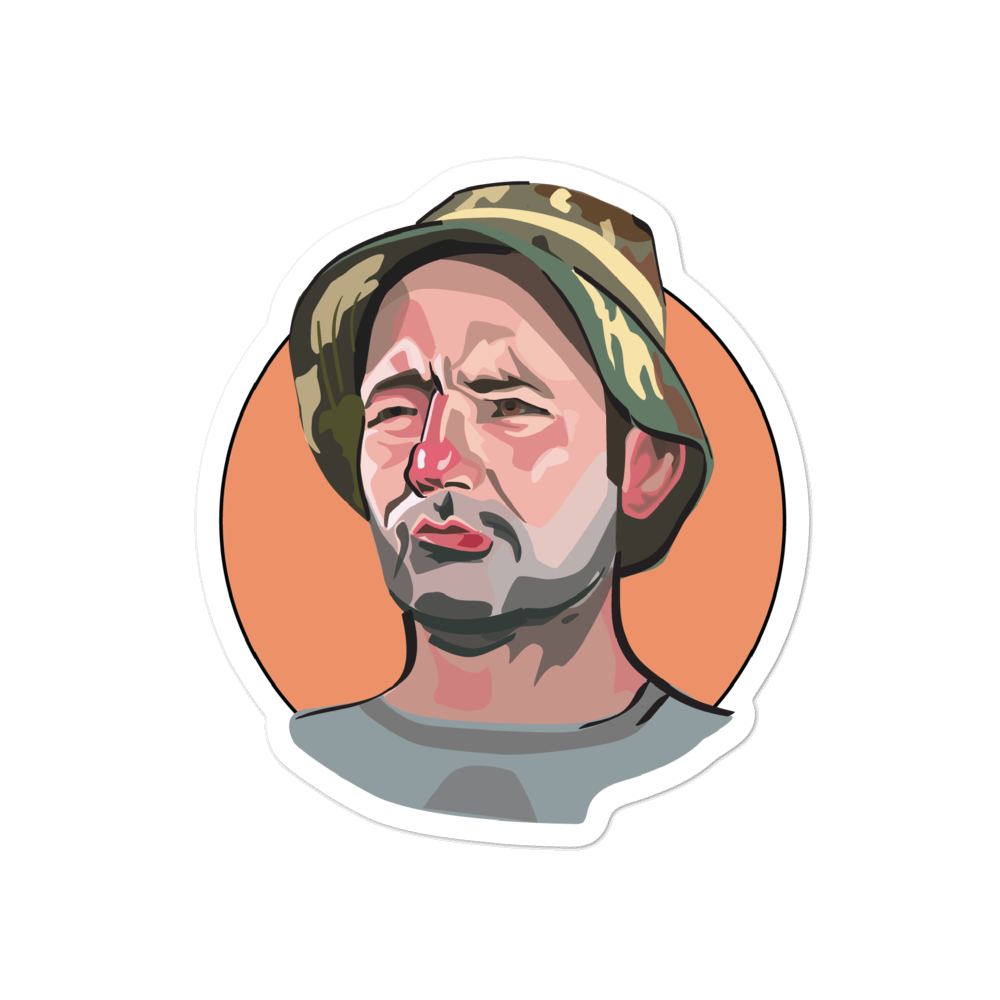 Caddyshack Sticker: Carl Spackler