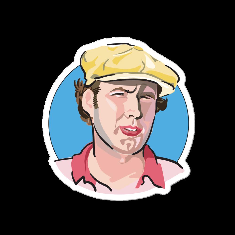 Caddyshack Sticker: Ty Webb