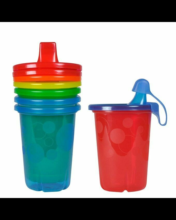 The First Years Take&Toss Spill-Proof Sippy Cups - 4 Count