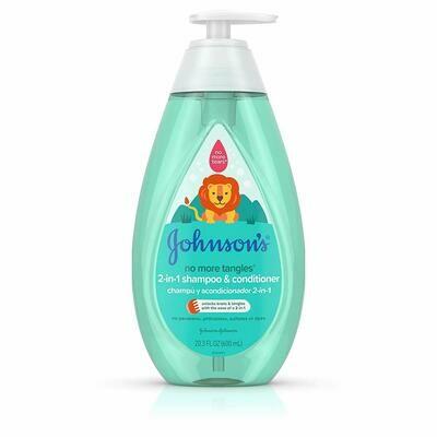 Johnson's Detangling 2-in-1 Baby, Toddler & Kids Shampoo & Conditioner, 20.3 fl. oz