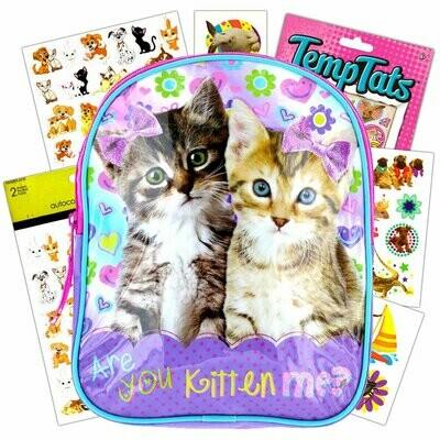 Disney Toddler Preschool Backpack (Kitten)
