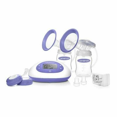 Lansinoh Signature Pro Double Electric Portable Breast Pump with Pumping Essentials