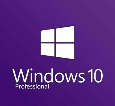 Windows 10 Pro Professional Lifetime Activation 32/64 Bit With Download Link