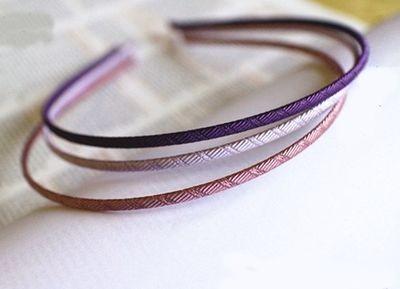 Grosgrain ribbon thin headband