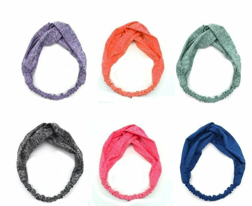 Twist-colour turban headband