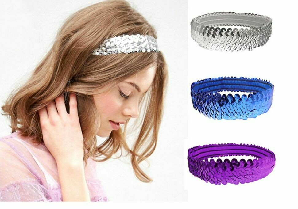 Sequins hair band