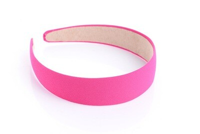 3cm-wide plain colours chiffon headband