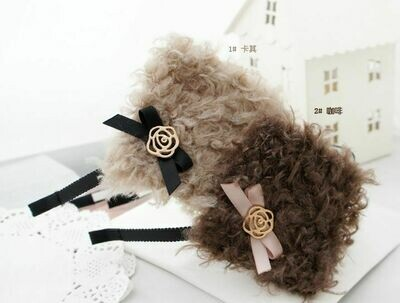Synthetic fur headband