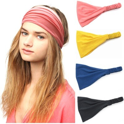 Cotton bandanna headband