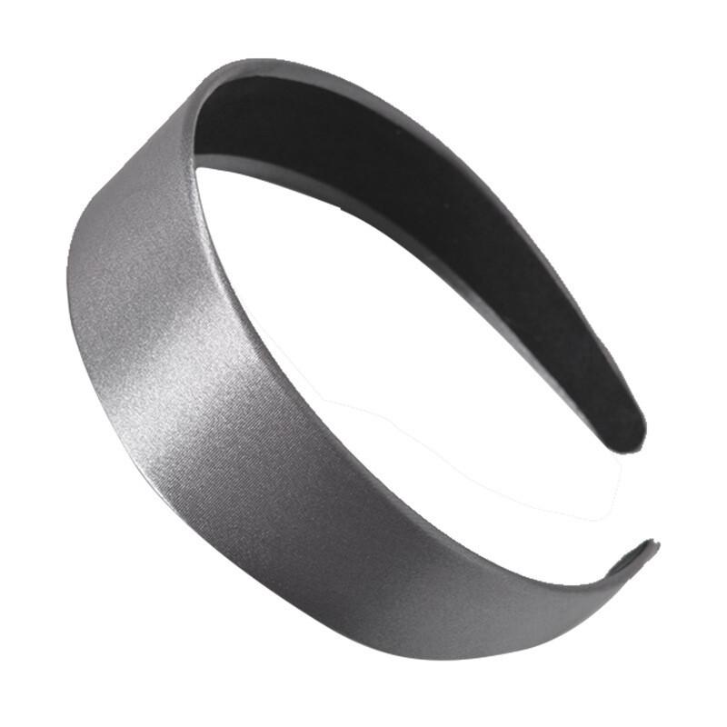4cm-wide silky satin headband
