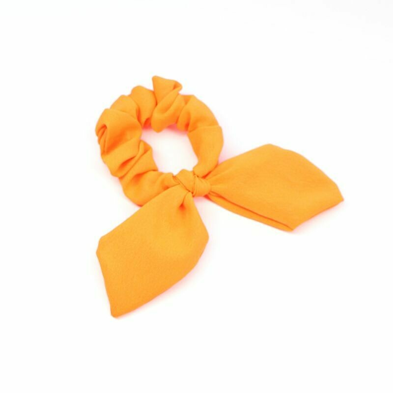 Neon scrunchies with bow