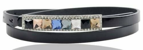 Colour gems pu belt