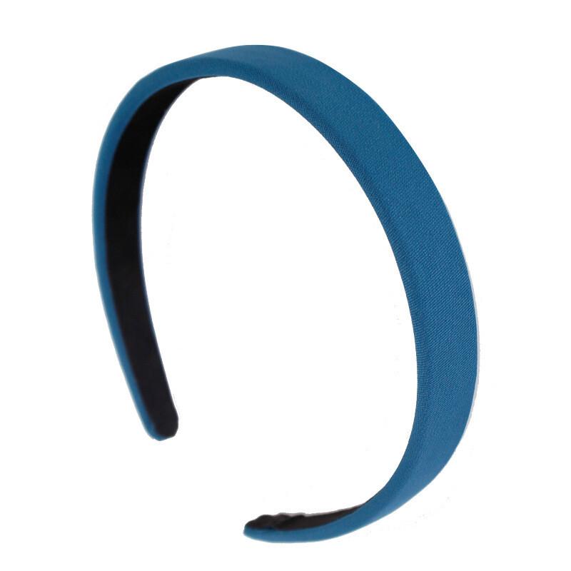 2cm-wide plain colours fabric headband