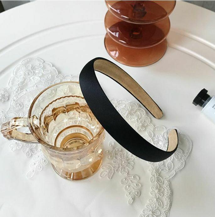 2cm-wide silky satin headband