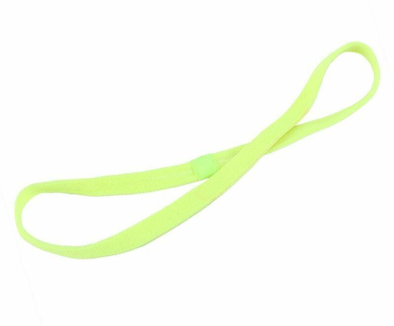 Non-slip sporty elastic headband