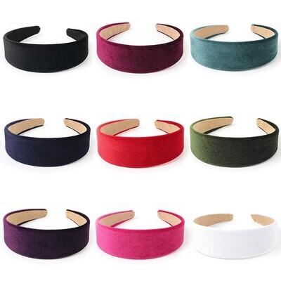 4cm-wide velvet headband