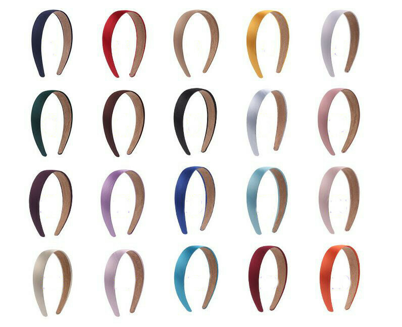 2.8cm satin headband 25, 50, 100 Pieces