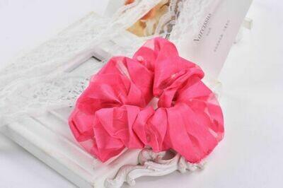 Plain sheer organza scrunchies
