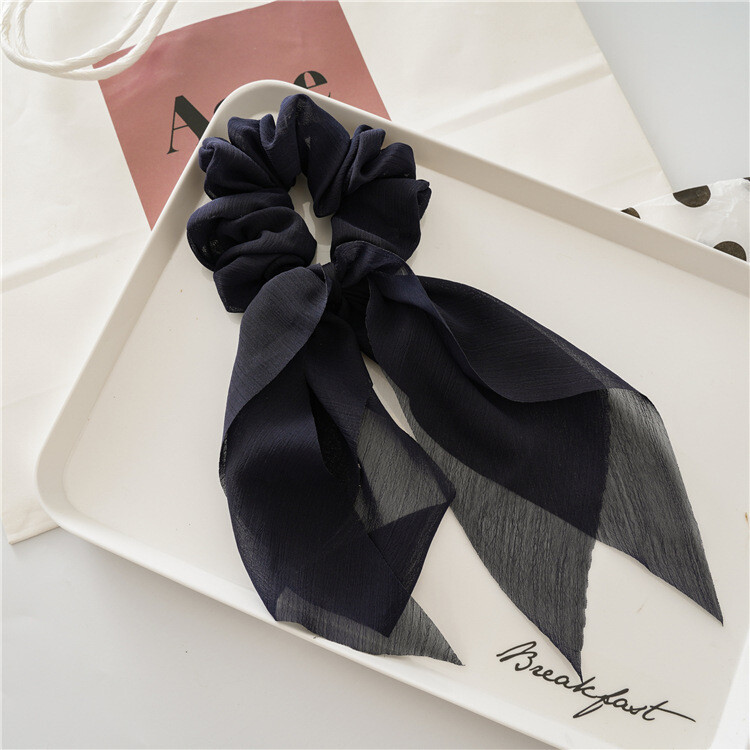 Plain scrunchies with tail