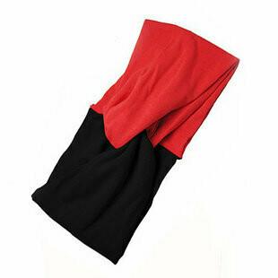 Twist-colour cotton turban headband
