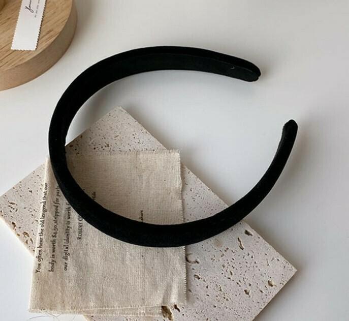 2cm wide velvet headband