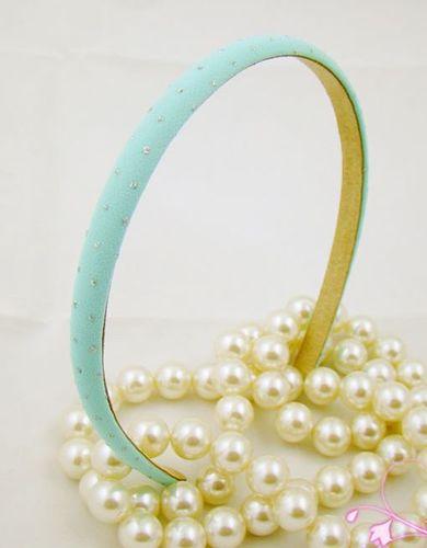 Sparkling dots slim headband