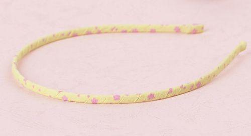 Chiffon floral extra-thin headband