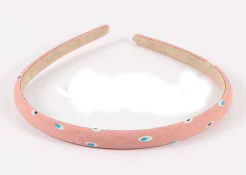 Rainbow dots headband