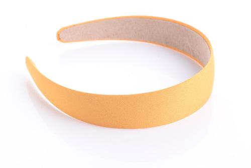 3cm-wide plain colours chiffon headband