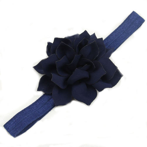 Lotus flower elastic headband