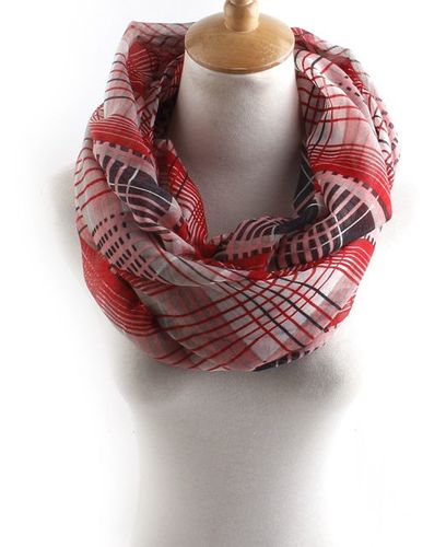 Dazzling Checkers infinity scarf