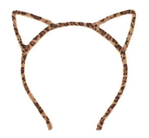 Fluffy cat ears headband