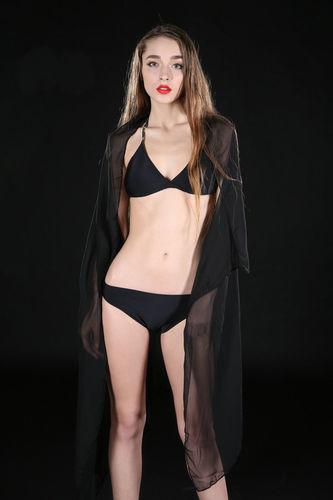 Plain chiffon bikini wrap