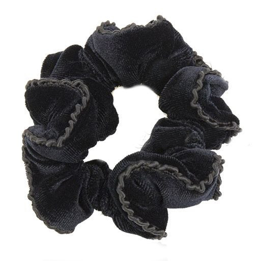 Lace velvet scrunchies