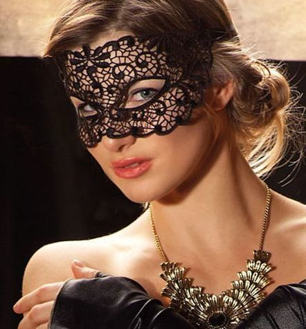 Lace party eye mask #7