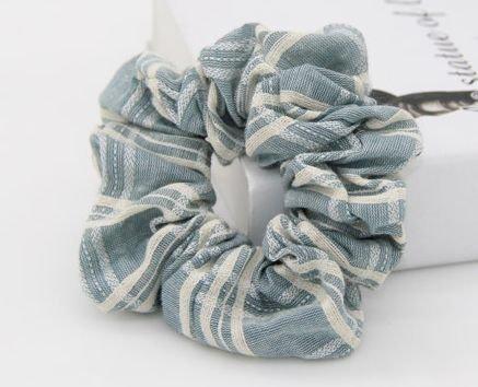 Plaids cotton scrunchies