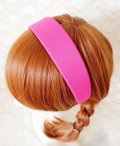 4cm wide chiffon headband