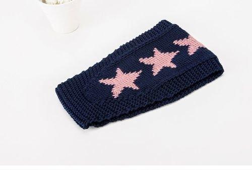Stars crochet headband