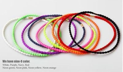 Neon elastic headband