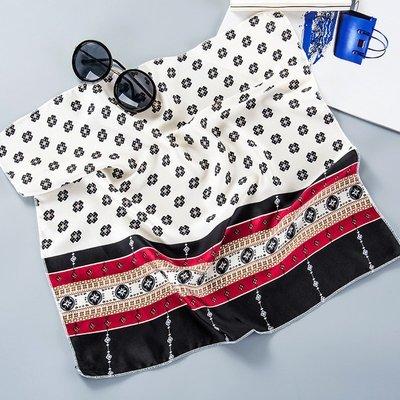 Soft satin head scarves / neck scarves